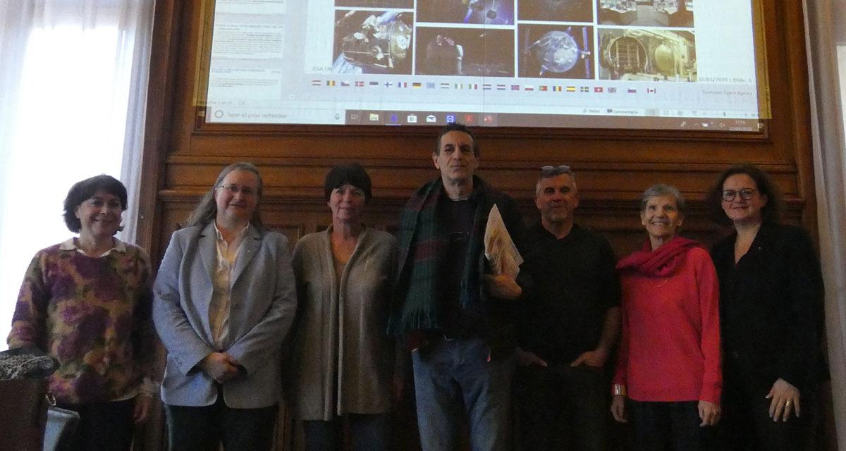 Rencontre avec l'Agence Spatiale Européenne (ESA) à Evian