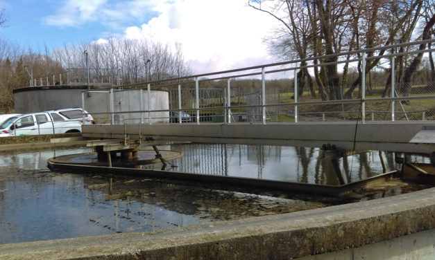 Turbinage des eaux clarifiées