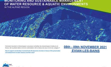 Congrès SUERA: Suivi et gestion durable de la ressource en eau et des milieux aquatiques dans la région alpine